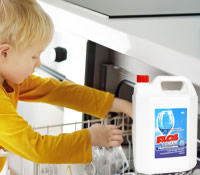 For dishwashing machine